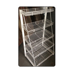 JLFLS-IUCHLR / four pole flexible rack / box rack / pipe racks/ super market four pole flexible racks / gondolas, super market racks / space management racks / glass racks / glass racks / cloth racks / fabric racks/ book fold racks